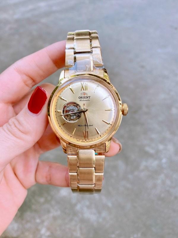 Đồng hồ Orient nam dây kim loại
