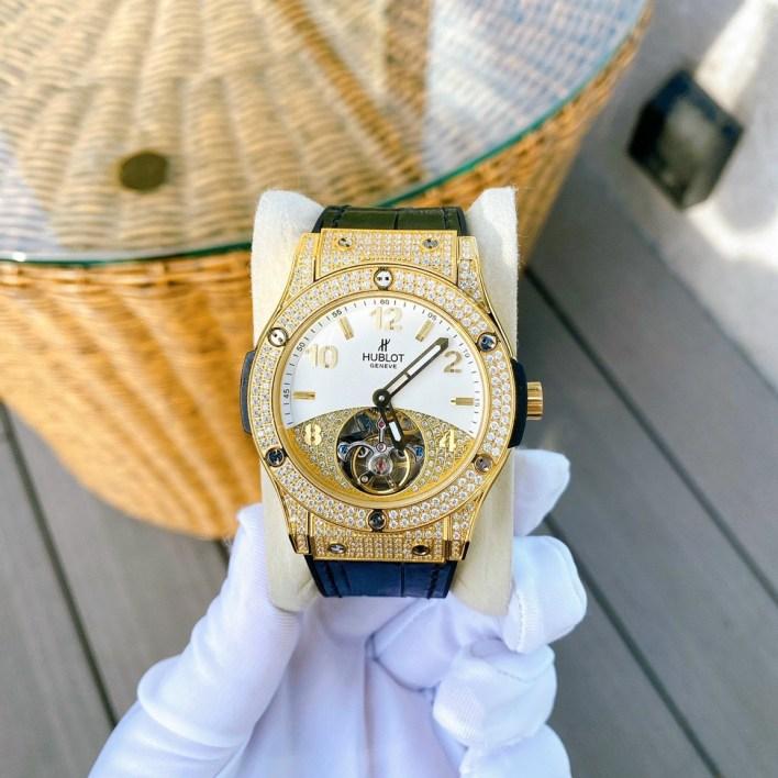 Đồng hồ nam đính đá Hublot