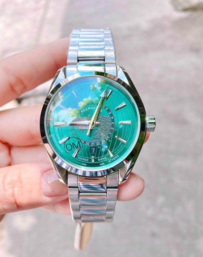 Đồng hồ Omega bản đồ