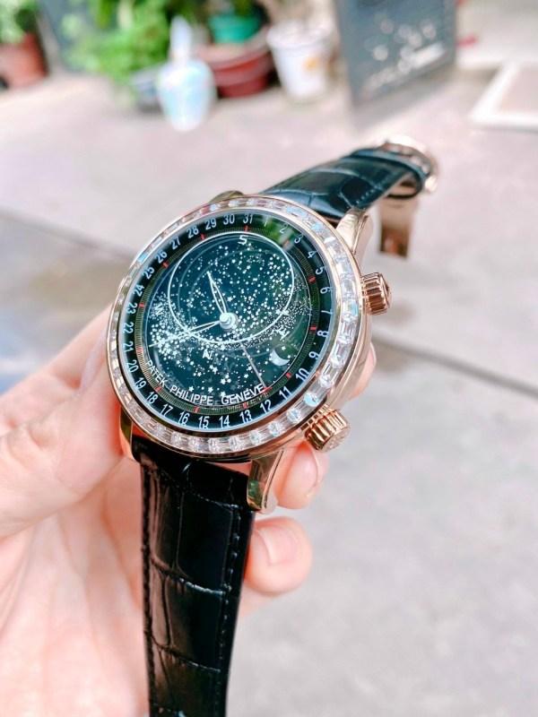 Đồng hồ Patek Philippe nam đính đá