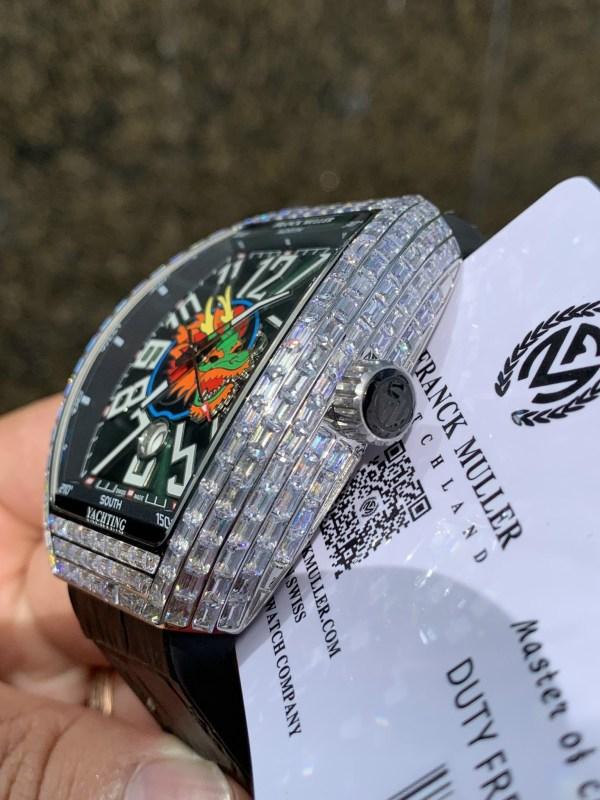 Đồng hồ cơ nam Franck Muller