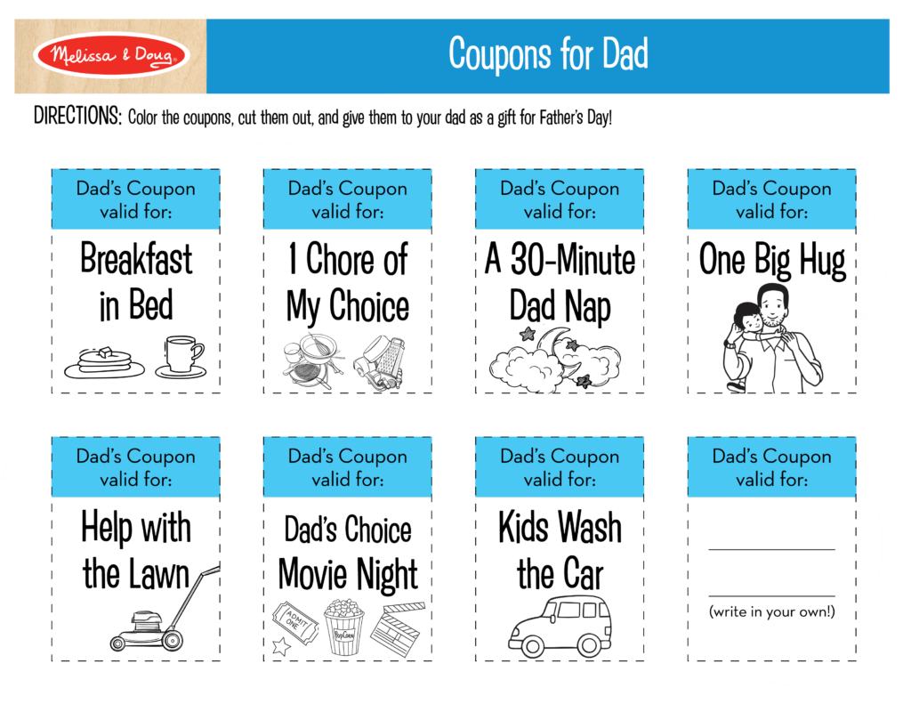 3 Free Father S Day Printables That Make Great Ts For