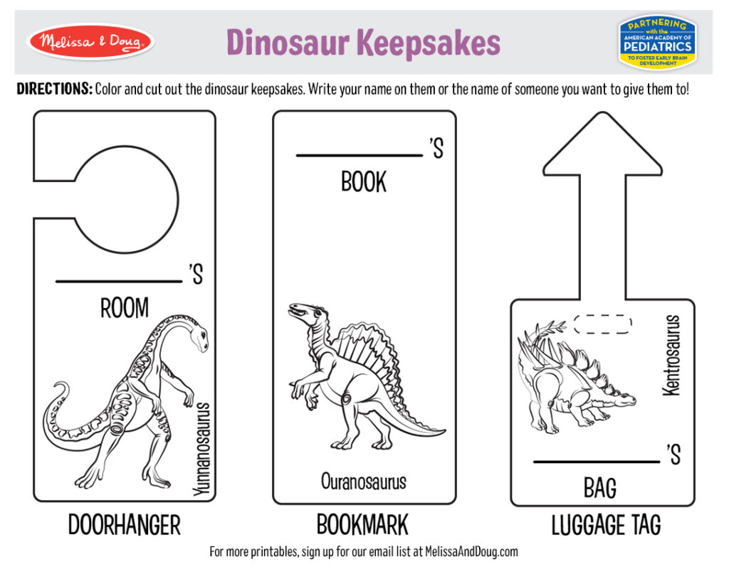 5 Free Dinosaur Printables And Activities That Make