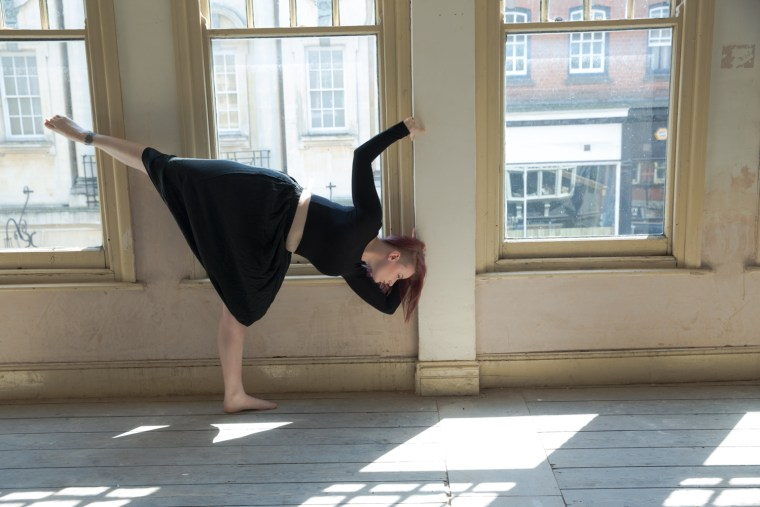 Scarlett Elizabeth Turner colour contemporary dance natural light empty space old building