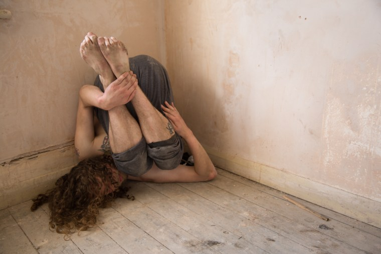 Joey Mottershead colour contemporary dance natural light empty space old building