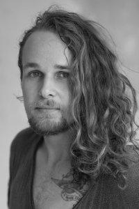 Black & White headshot of Leicester dancer Joey Mottershead