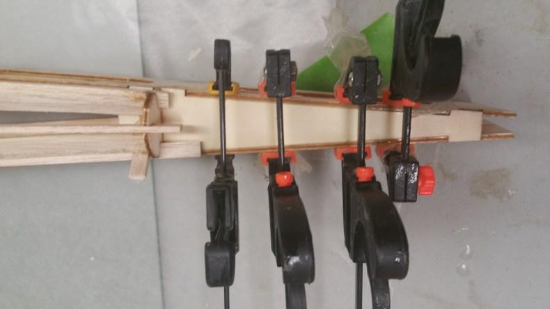 Stab mount glued