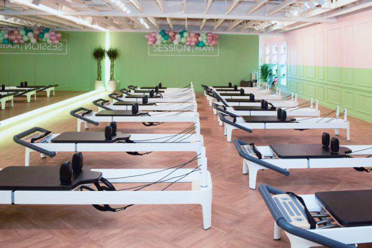 Bachelorette party idea at Session Pilates