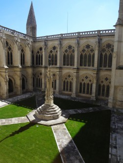 The courtyard of the Cathedral.