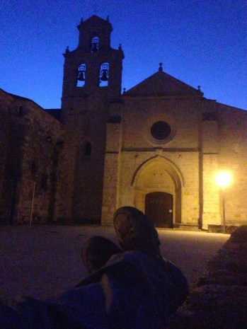 Leaving St. Juan de Ortega