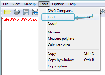Search And Find Texts In An AutoCAD Drawing DWGSee