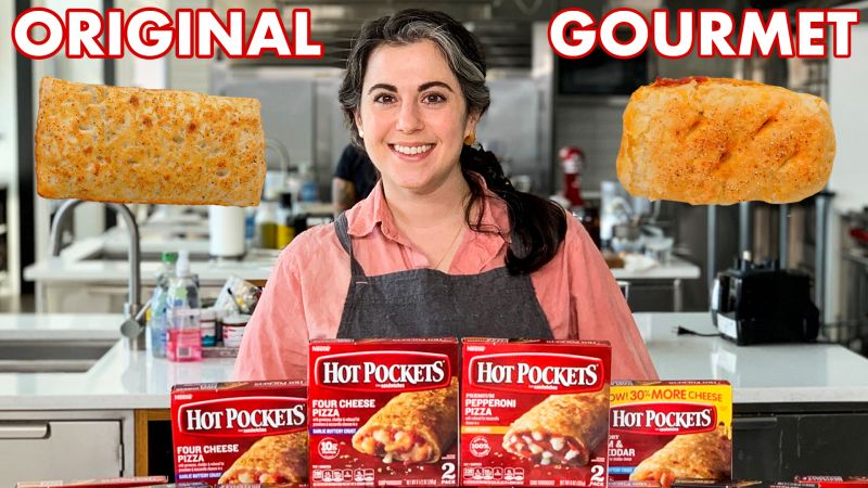 make gourmet hot pockets