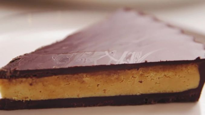 Watch This Giant Peanut Butter Cup is Everything