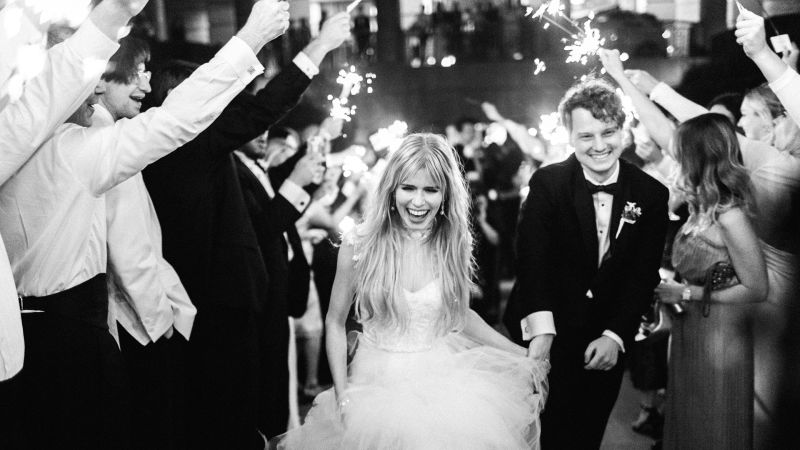 Watch Real Weddings Carlson Young Amp Isom Innis Fort