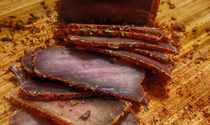 сушено месо