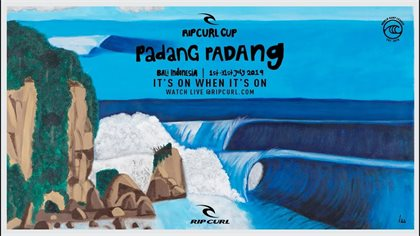countdown to rip curl cup begins mick fanning makes his padang padang picks