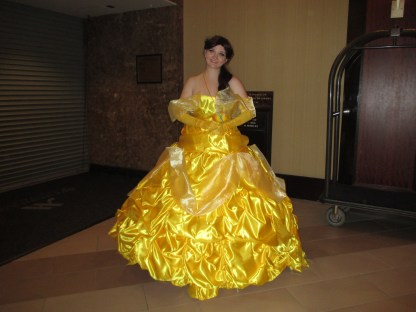 The Belle of the ball. Isn't she beautiful?