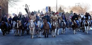 Dakota riders, Mankato, MN 12/26/12