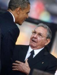 Barack Obama & Raul Castro