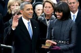 President Obama's Oath of Office, Jan. 2013