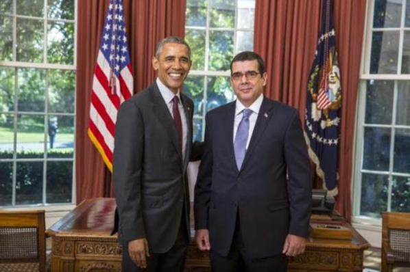 Obama & Cabanas @ White House