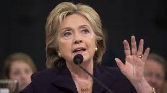 Hillary Clinton @ Hearing
