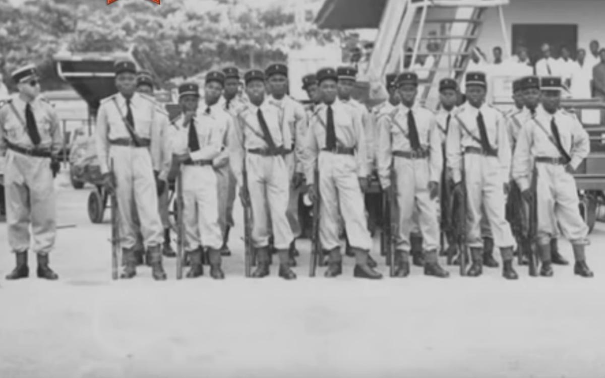 gabon COUP D'ETAT DU 17/18 FEVRIER 1964