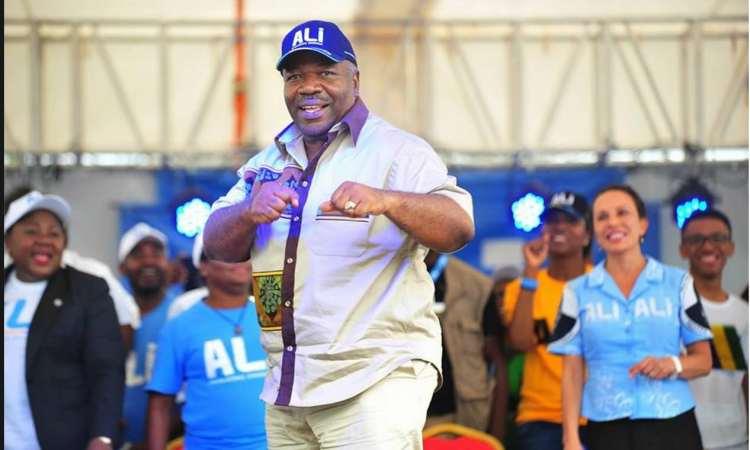 Présidentielle 2016 : Ali Bongo dans la province de la Nyanga