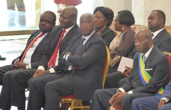 Raymond Ndong Sima présent à l'investiture d'Ali Bongo Ondimba