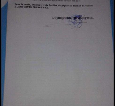 Mme ESTELLE ONDO REPOND AU SECRETAIRE EXECUTIF DE L'UNION NATIONALE