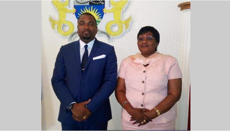 Axel Jesson Denis Ayenoue : Maire du 4ème arrondissement de la commune de Libreville