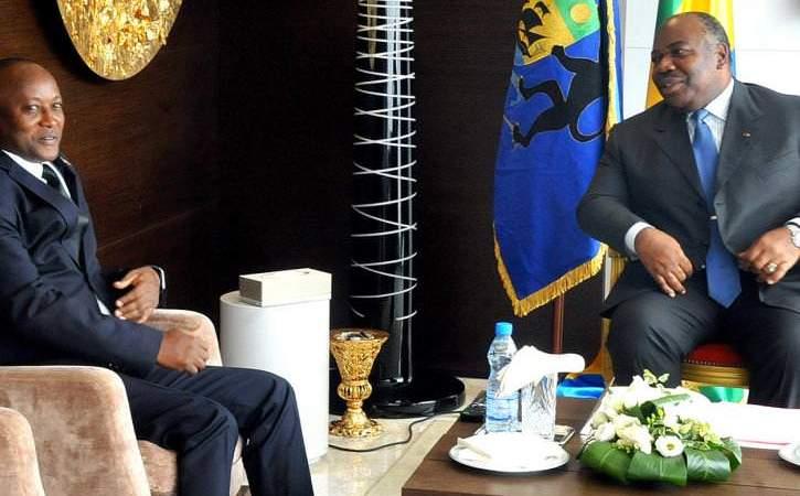 Le Premier Vice-Président de la République du Burundi reçu par Ali Bongo