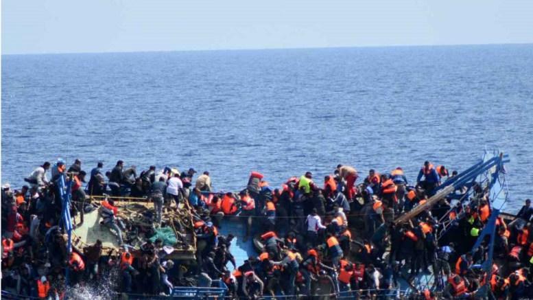 Les migrants au large de la Libye - L'OIM lance une campagne au profit des migrants africains