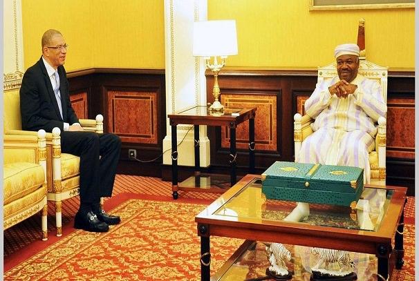 Gabon : Lionel Zinsou reçu par le président Ali Bongo Ondimba