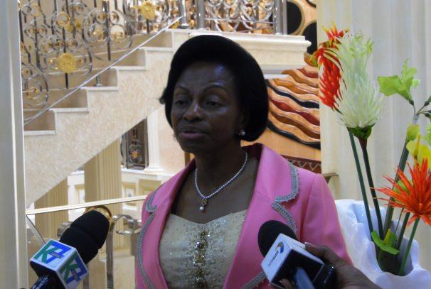 Gabon : Marie-Madeleine Mborantsuo distinguée