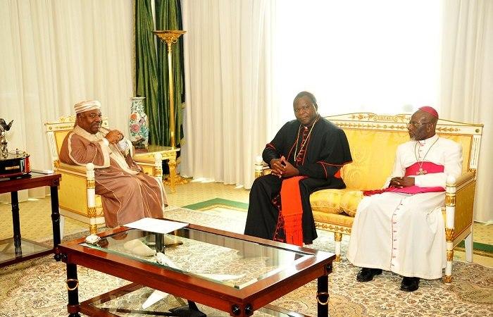 GABON/Audience : deux (2) représentants religieux reçu ce jour par Ali Bongo Ondimba
