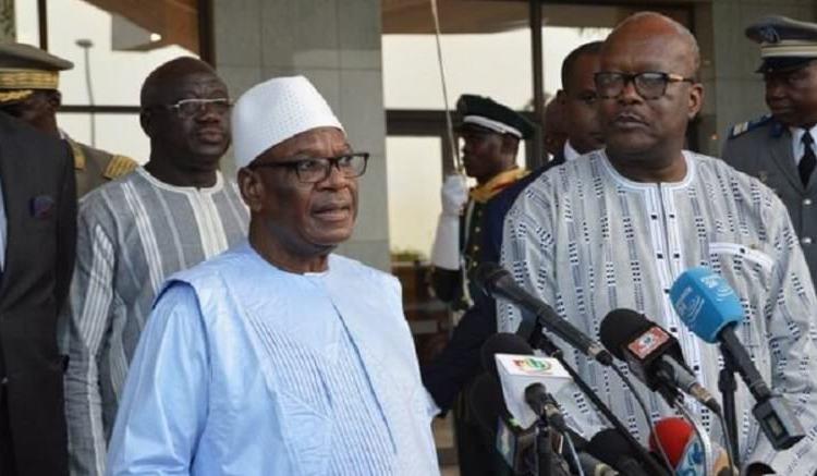 IBK au Burkina - Ibrahim Boubacar Keita s'est prononcé sur les attentats de Burkina Faso