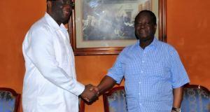 PDCI-RDA: Kakou Guikahué rencontre le président Bédié