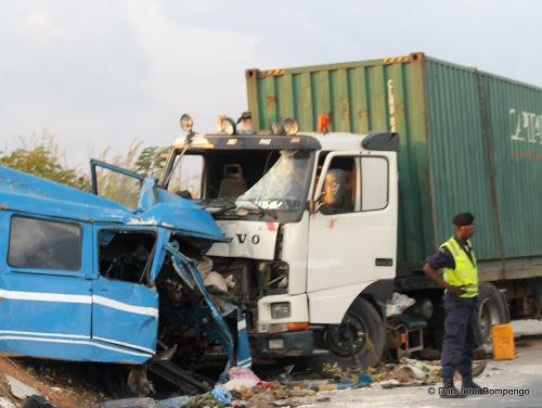 Accident de circulation dans le Kwilu : 25 morts, bilan revu à la hausse