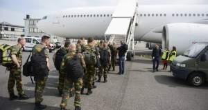 Tropical Storm : Retour des militaires belges