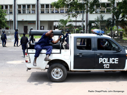 Isangi : la police étouffe une manifestation d'agents « impayés » de la CENI