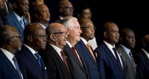 Washington menace l'Afrique: Le secrétaire d'État américain, Rex Tillerson demande aux pays africains à rompre leurs relations avec la Corée du Nord