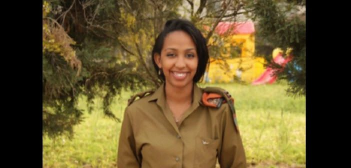 decouvrez la premiere et seule femme africaine a servir dans larmee israelienne - Découvrez la première et seule femme africaine à servir dans l'armée israélienne