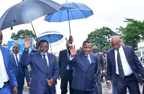 RDC : Denis Sassou, Joao Lourenço et Joseph Kabila plaident pour une mobilisation pour la mise en œuvre de l'agenda électoral
