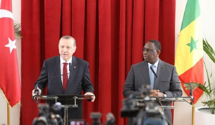 Erdogan au Sénégal: «Nous ne voulons pas exploiter les Africains»