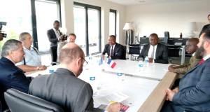 L'Ambassade du Gabon en mission d'exploration économique à Lyon