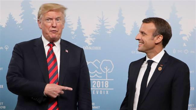 deffca55 db87 447e b0eb 84c7b396df5d - Donald Trump a proposé à Emmanuel Macron de quitter l'Union européenne, a révélé The Washington Post