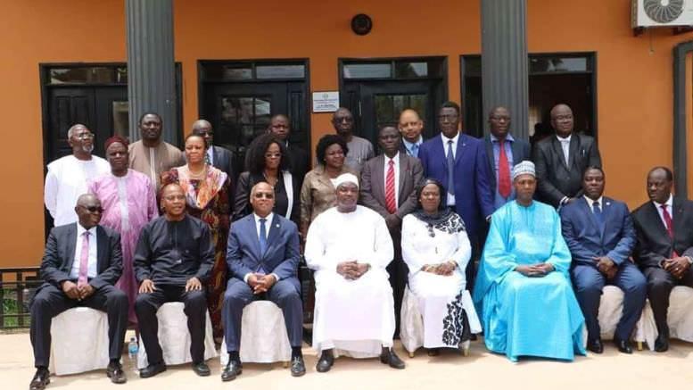 Gambie : Fin de la visite de Jean-Claude Kassi Brou et Mohamed Ibn Chambas