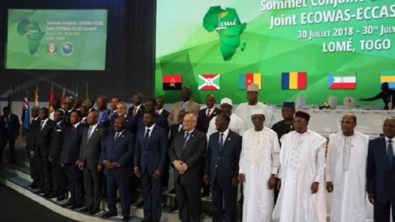 Sommet CEEAC CEDEAO - Togo : Le sommet CEEAC- CEDEAO s'achève en beauté