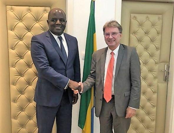 france gabon4 - Diplomatie : S.E.M.Philippe AUTIER, le nouvel Ambassadeur de France au Gabon